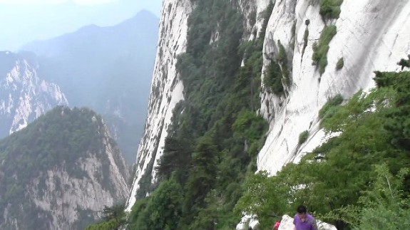 73 Hua shan a pics vertigineux